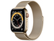 Apple Watch Series 6 GPS+Cellularモデル 44mm M09G3J/A [ゴールドミラネーゼループ]
