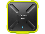 ADATA Durable SD700 External ASD700-256GU3-CYL [イエロー] (USB3.1 Gen1対応 256GB)