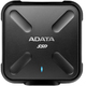 ADATA Durable SD700 External ASD700-512GU3-CBK [ブラック](USB3.1 Gen1対応 512GB)