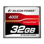 Silicon Power コンパックトフラッシュ(CFカード 400倍速 32GB) [SP032GBCFC400V10]