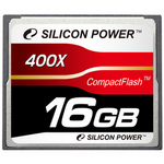 Silicon Power コンパックトフラッシュ(CFカード 400倍速 16GB) [SP016GBCFC400V10]