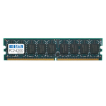 【中古】I/O DATA DX533E-512M (PC2-4200[DDR2-533] 240PIN DIMM ECC機能対応)