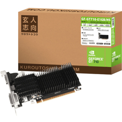 玄人志向 GF-GT710-E1GB/HS (PCIExp GeForce GT 710 1GB)